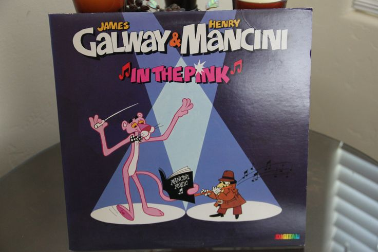 """PINK PANTHER #Theme #12"""" #Record Vintage 1980s Old School Soundtrack Cartoon,  View more on the LINK: http://www.zeppy.io/product/gb/3/220471739/"""