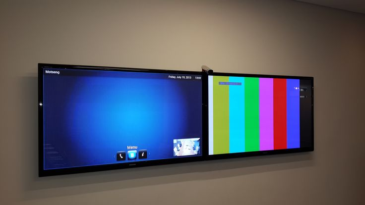 Polycom Room 500 Video Conference with dual Samsung LED Displays