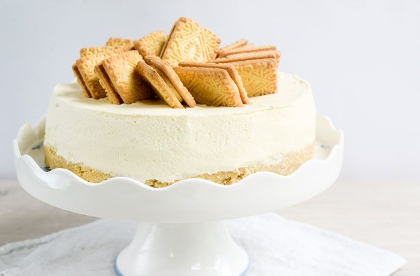 No-bake Custard Cream cheesecake recipe - goodtoknow