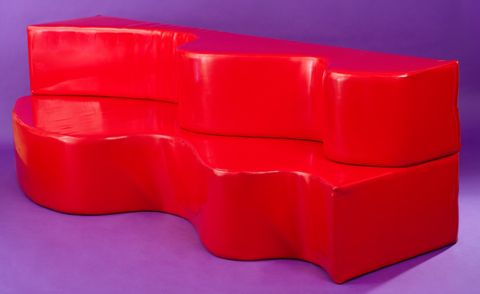 Archizoom, divano superonda