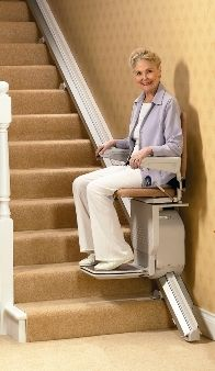 """3 Types of Stairway Lifts for the Home that Can Provide More Mobility - #stairwaylifts There are three main types of stair lifts. Each type of stairway lifts has its own drive. The """"drive"""" is what powers the chair portion of the stairway lift. Learn more..."""