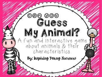 Are you looking for an interactive game to assess all your students have learned about animals and their characteristics? Look no further! This is the perfect way to assess student's knowledge and vocabulary of the content taught while the students are having fun!