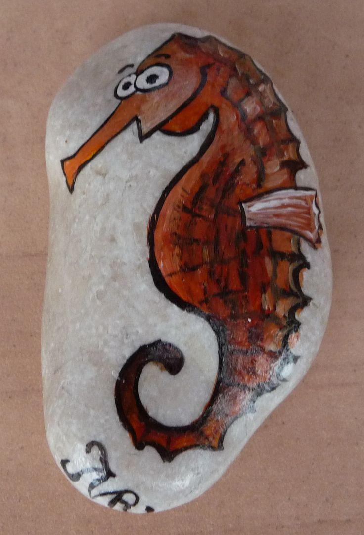 Malování na kameny - Morsky_konik (kameny_010.jpg)
