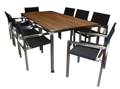 Outdoor furniture 7pc Hawthorn Dining Sets