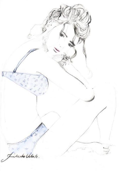 On the beach, swimwear illustration  @tlvillustration  tlvillustration@gmail.com