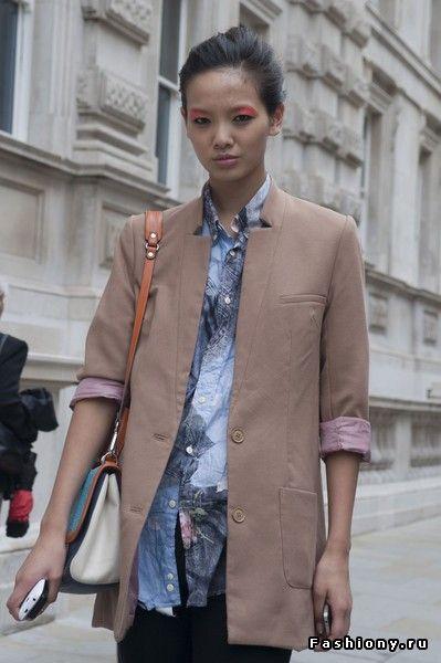 Уличный стиль Лондона / стиль лондон в одежде