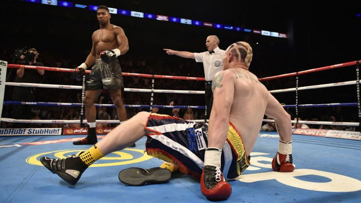 SportsDezk's blog.: Boxing:Anthony Joshua stops Gary Cornish in 90 sec...