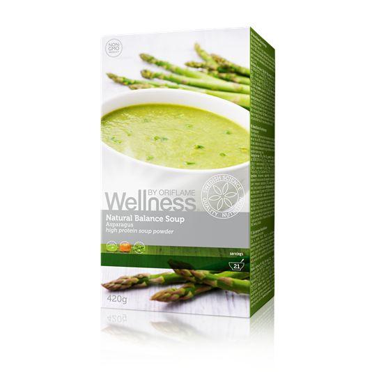 Суп «Нэчурал Баланс» обеспечит тебе вкусный обед и оптимальный заряд энергии, уменьшая чувство голода, оставит ощущение сытости, концентрированного внимания и энергии. В одной упаковке 21 порция. 100% натуральные ингредиенты. В одной порции — всего 100 калорий! Высокое содержание клетчатки, белка и Омега-3. Без глютена, лактозы, искусственных красителей и консервантов. Удобно и быстро: готовится за 1 минуту!