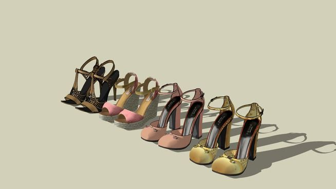 SAPATOS SHOES 01 - 3D Warehouse