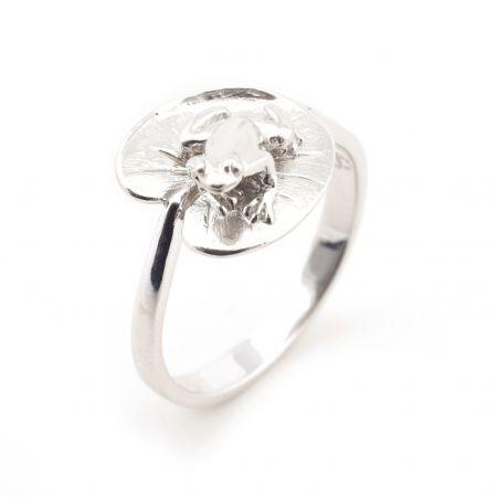 Frog & Lilipad Ring