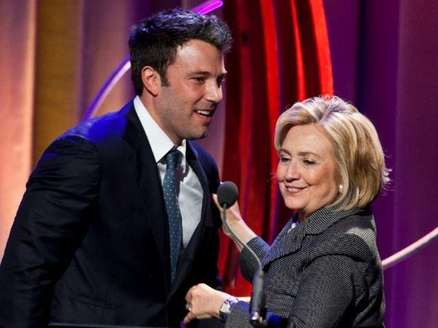 BEN AFFLECK HAD HILLARY'S PRIVATE EMAIL ADDRESS–AND AMBASSADOR CHRIS STEVENS DIDN'T by DANIEL NUSSBAUM 30 Oct 2015 Ben Affleck sent an email to Hillary Clinton's private email server during her tenure at the State Department, an emailreleased on Friday by the agency revealed.