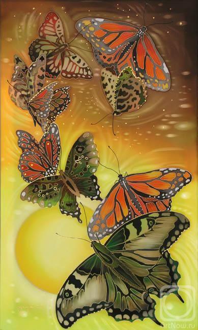 """Бабочки"" (Butterflies) by Соколова Надежда Степановна [Sokolova Nadezhda (Nadejda) Stepanovna], 2008"