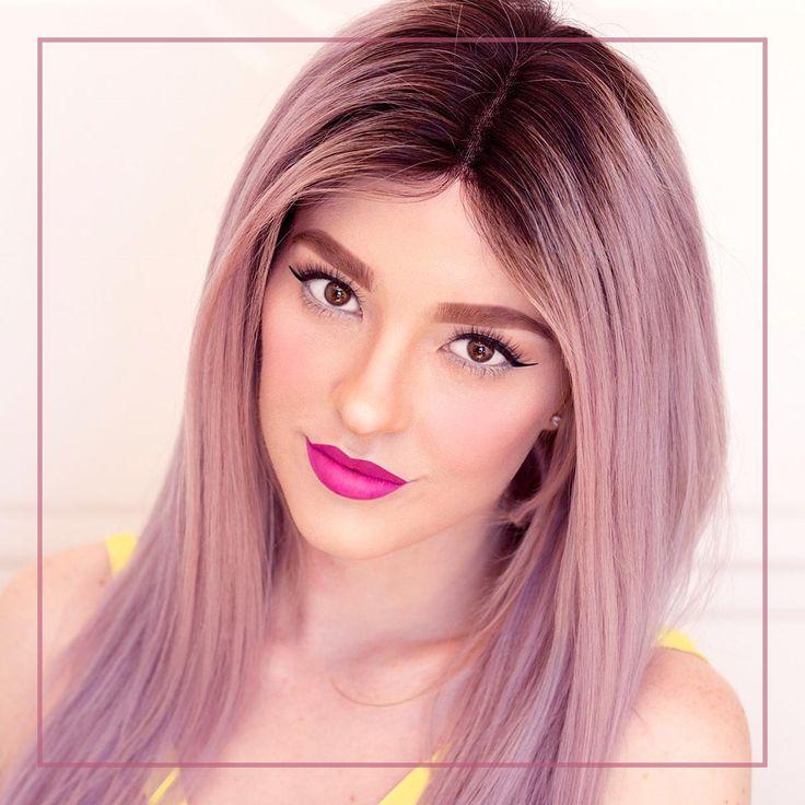 The perfect amount of lift and volume.    #lippenstift #lippen #kiss #smile #lipstick #matte #glossy #kissable #lunilash #bilden #schminken #schminke #augenbrauen #wimpern #lidschatten #Augen #maskenbildner #augenmakeup #grundierung #flüssigerlippenstift #pinzette #lips #cosmetics #makeupaddict #lipgloss #makeup #instagood #violethair #coloroftheyear  ⠀
