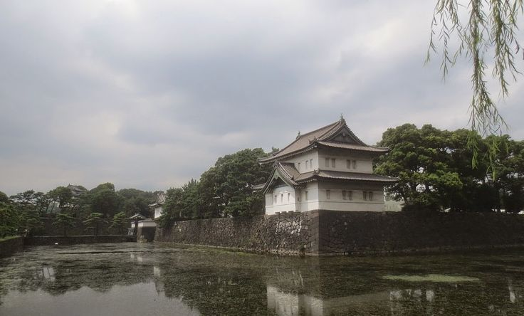 Kaiserpalast, Tokio - Imperial Palace, Tokyo - http://barbaras-reisen.blogspot.de/2014/09/2-wochen-japan-kreuzfahrt-und-citytrip.html