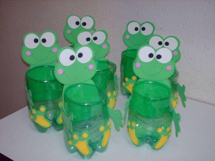 manualidades para niños de preescolar faciles con botellas - Buscar con Google