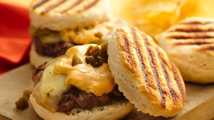 Fire up the grill and make these spicy hot burgers!!