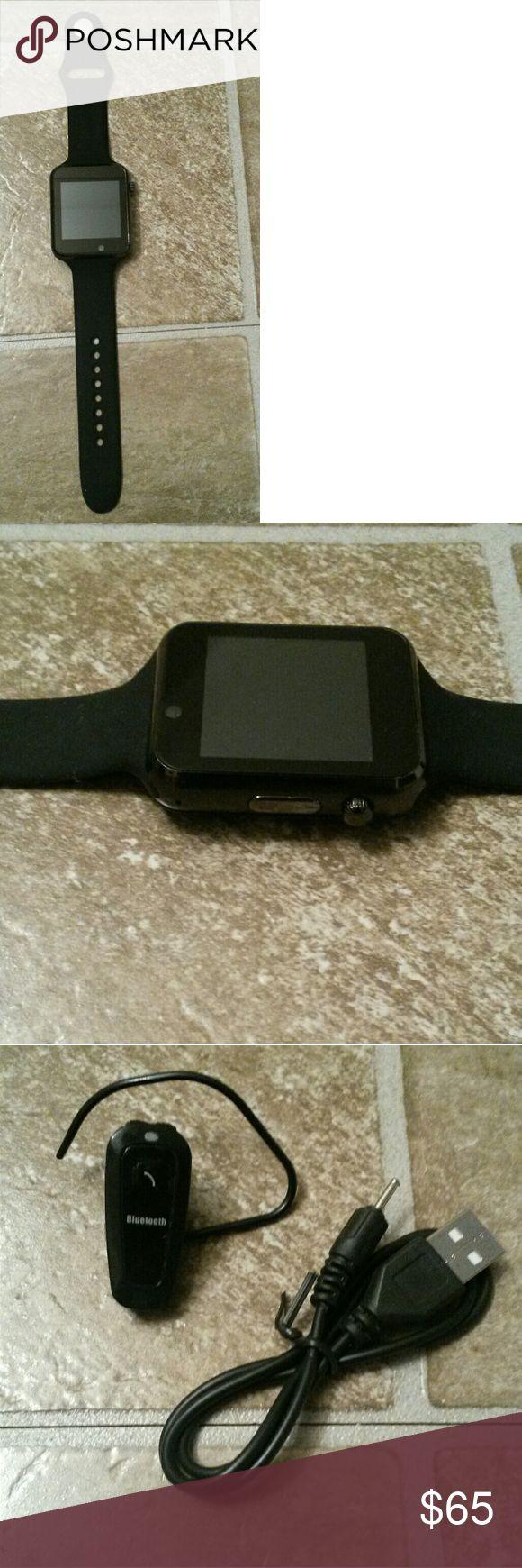 Bluetooth & simcard smartwatch & Bluetooth headset Bluetooth & simcard smartwatch & Bluetooth headset android smartwatch Other