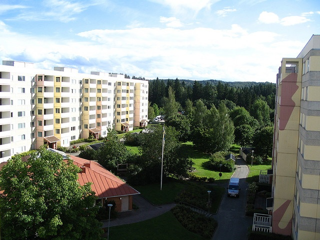 Raslatt were the dorms we stayed in while attending classes in Jonkoping, Sweden