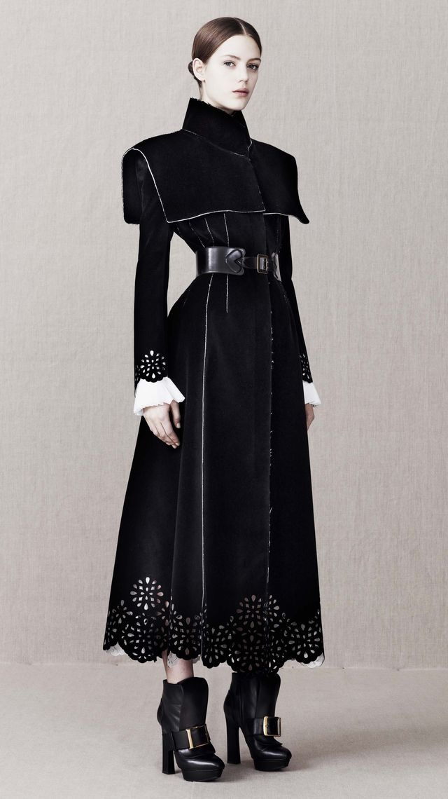 Alexander McQueen Pre-Autumn/Winter 2013 - I love the Grimms' fantasy-like tone of this collection