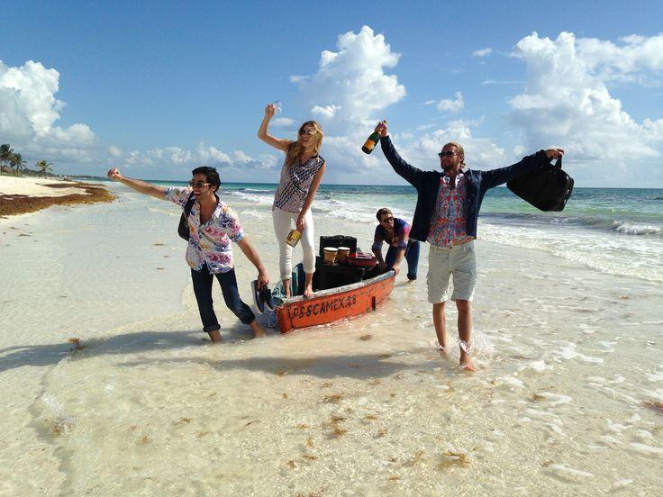 Robert Graham shooting by Yucatán Productions.