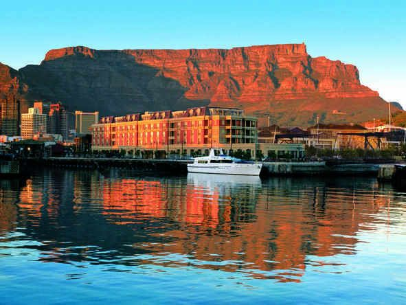 Cape Grace - view of Table Mountain