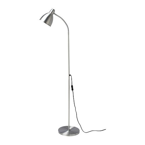IKEA - LERSTA, Candeeiro de pé/leitura, , Oferece uma iluminação direta, ideal para ler.Pode direcionar a luz de acordo com as suas necessidades pois o braço do candeeiro é regulável.