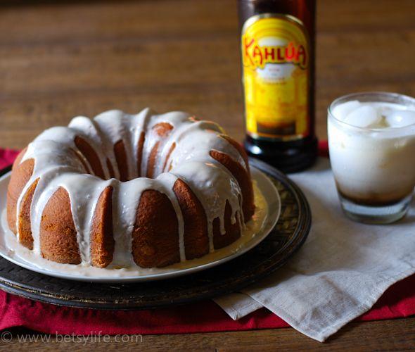Kahlua White Russian Bundt Cake