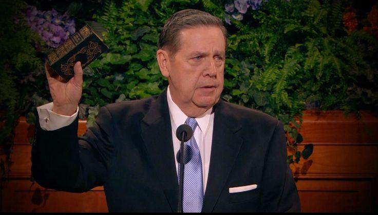 Je veux qu'il soit absolument clair, le jour où je me tiendrai à la barre du jugement de Dieu, que j'ai déclaré au monde… que le Livre de Mormon est vrai.
