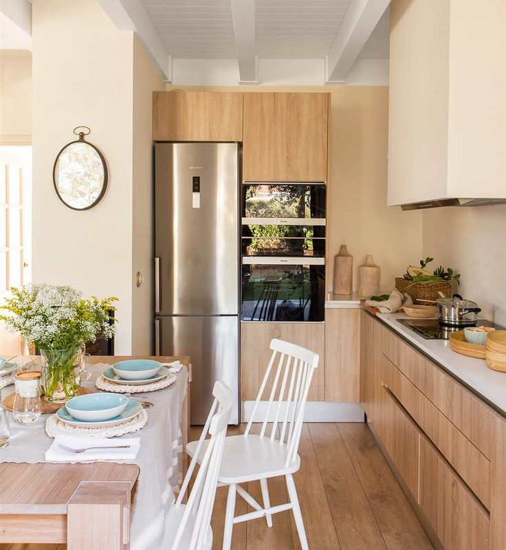 M s de 25 ideas incre bles sobre casas minimalistas for Distribucion cocina alargada
