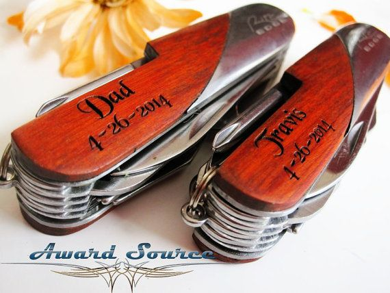 Unique Groomsmen Gift - Best Man Gift - Personalized Swiss Pocket Knife - Custom Engraved Gifts, Pocket Knife