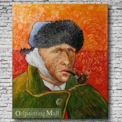 61 best autoportraits l 39 oreille band e images on - Vincent van gogh autoportrait a l oreille coupee ...