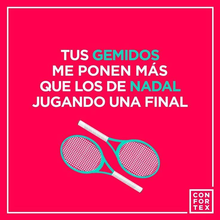 Que hacemos si nos excitamos hasta viendo una partido de tenis ☄🍆 🎾 ☄  #confortex #condones #condoms #open #nadal #federer #instagood #tenis #followme #tennis #tennispractise #love #followme #atp #wta #usopen #daviscup #djokovic #RogerFederer #wimbledon #Dimitrov #Murray #RolandGarros #BNPPM #bnpparibas #delpotro #monfils #gaelmonfils #raonic #AusOpen
