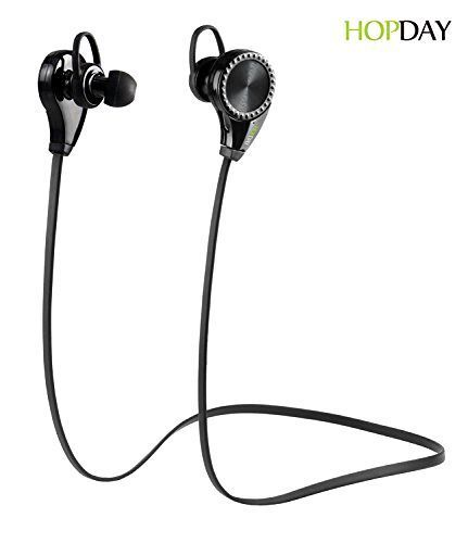 Bluetooth Headphones, HOPDAY Bluetooth Earbuds V4.1 Wireless Sports Headphones #HOPDAY