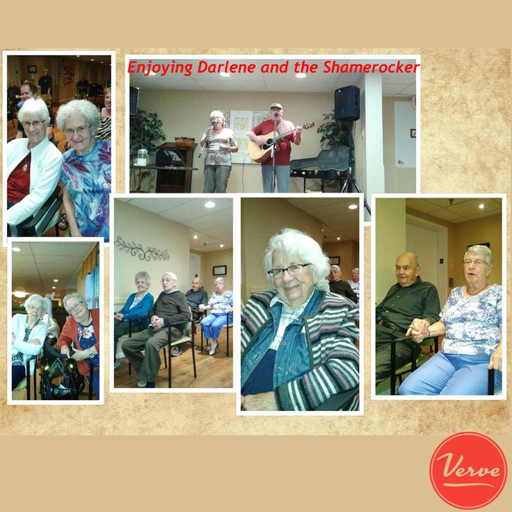 The residents of the Richmond enjoyed an evening of entertainment.