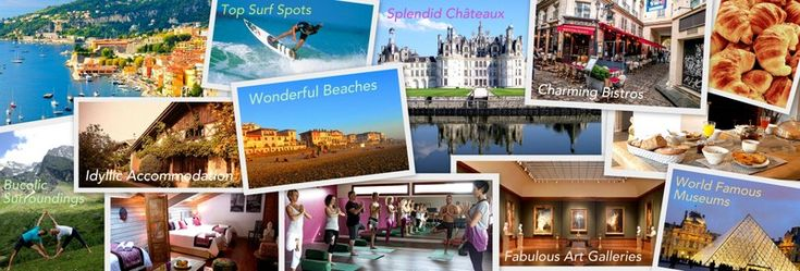 France: World Class Art, Architecture & Gastronomy Being the most visited country in the world, France is a beauty to behold. With its world-class art and architecture, the refined philosophy penetrates to its fine culinary culture as well. yoga and meditation retreat in France, top surf spots, Les Landes, famous museums and art galleries, splendid chateaux, charming bistros, french pastries, bucolic surroundings, idyllic accommodation