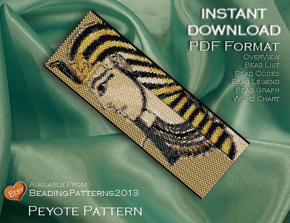 Peyote patterns and Loom patterns are our speciality and are based on the use of Miyuki Delica Size 11 beads. We like to think we go the