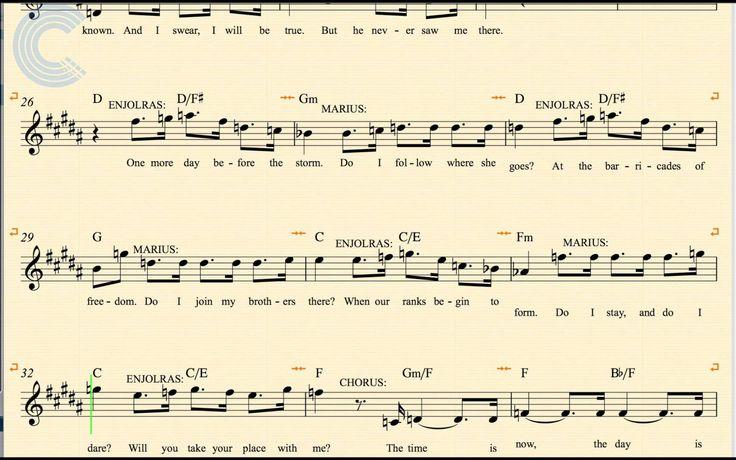 les miserables piano sheet music pdf free