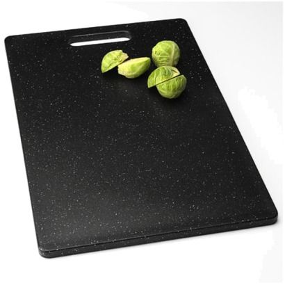 "*Both Purchased* Midnight Granite Poly Cutting Board (9-1/2x15"") - DESIRE: 2"