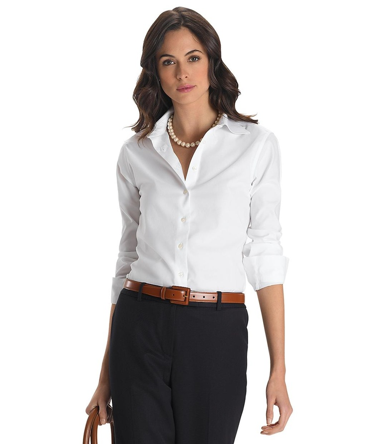 Non-Iron Classic Fit Dress Shirt with XLA | Brooks Brothers