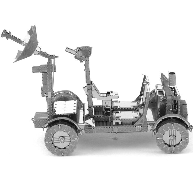 Moon Buggy Lunar Rover Metal Model //Price: $15.95 & FREE Shipping //     #3DMetaltoys #Metal #Puzzle #3D #3DPuzzle #metalpuzzle #metalpuzzles #3dmetalpuzzles