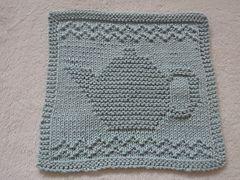 Ravelry: Teapot III Dishcloth pattern by Louise Sarrazin