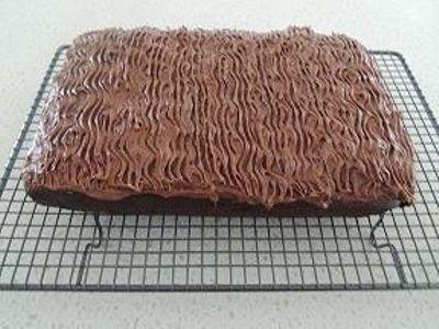 Mix-in-a-Minute Chocolate Cake