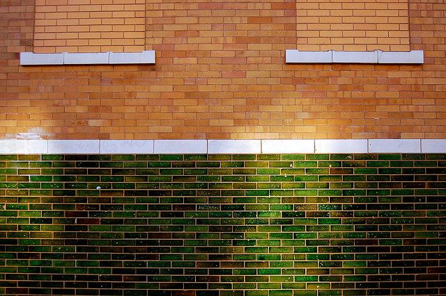 Green glazed brick | Flickr - Photo Sharing!