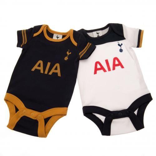 Tottenham Hotspur FC 2 Pack Bodysuit 9/12 mths GD