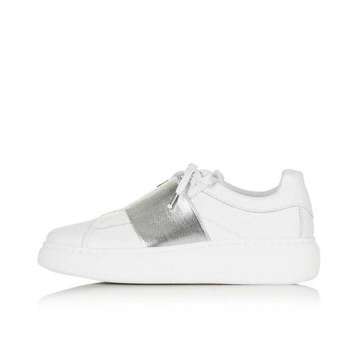 Turin Metallic Elastic Sneaker