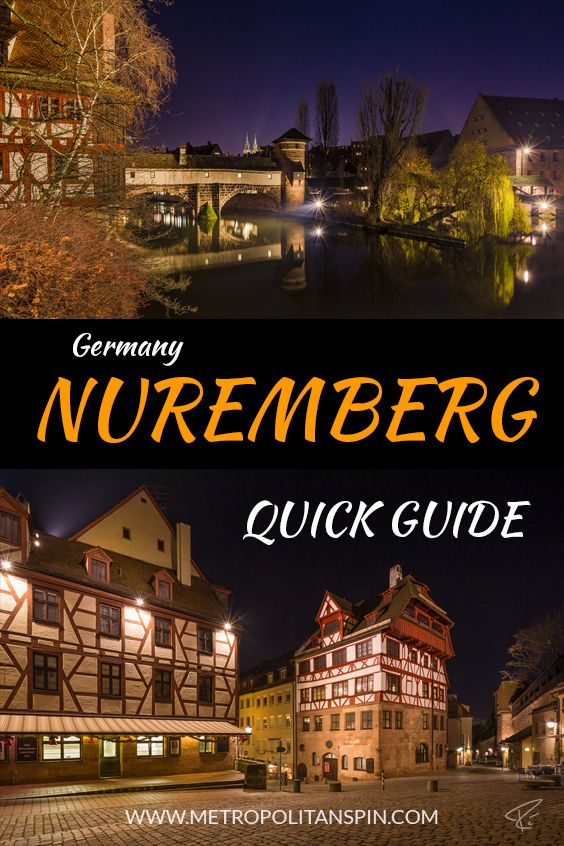 Planning a trip to Nuremberg? Check out this quick guide! #europe #travel #germany #nuremberg