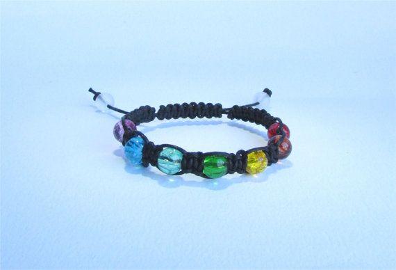 Black Healing Chakra Bracelet from Ireland by DelabudCreations