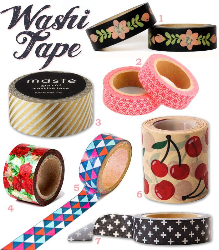 Jenni's Table: Favourite Washi Tapes