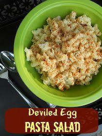 Deviled Egg Pasta Salad   Deviled Eggs, Pasta Salad and Pasta