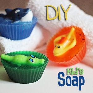 Soap Making for Kids: DIY Sea Creature Soap Craft